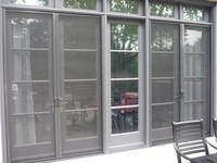 Double Retractable Screen